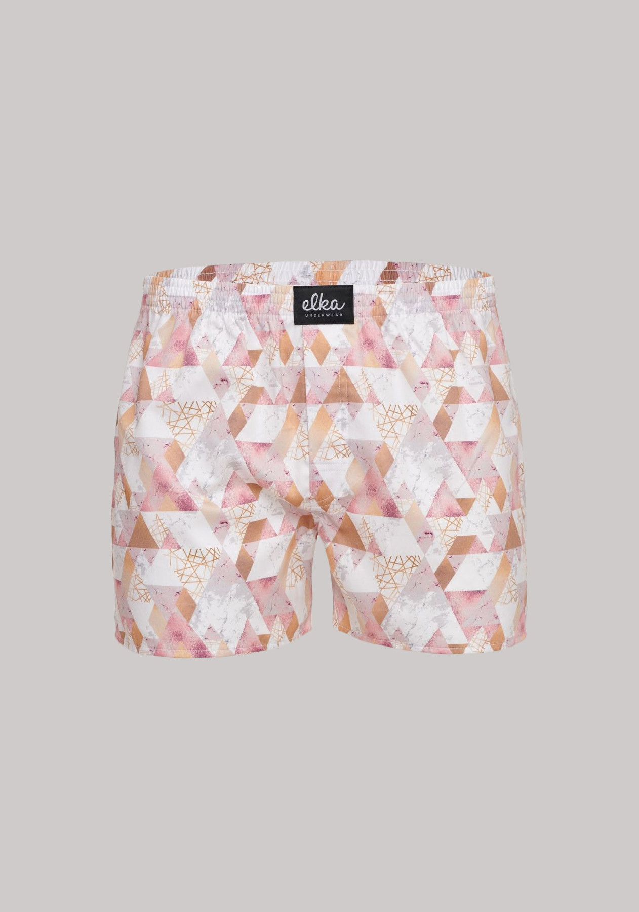 Triangly růžové pánské