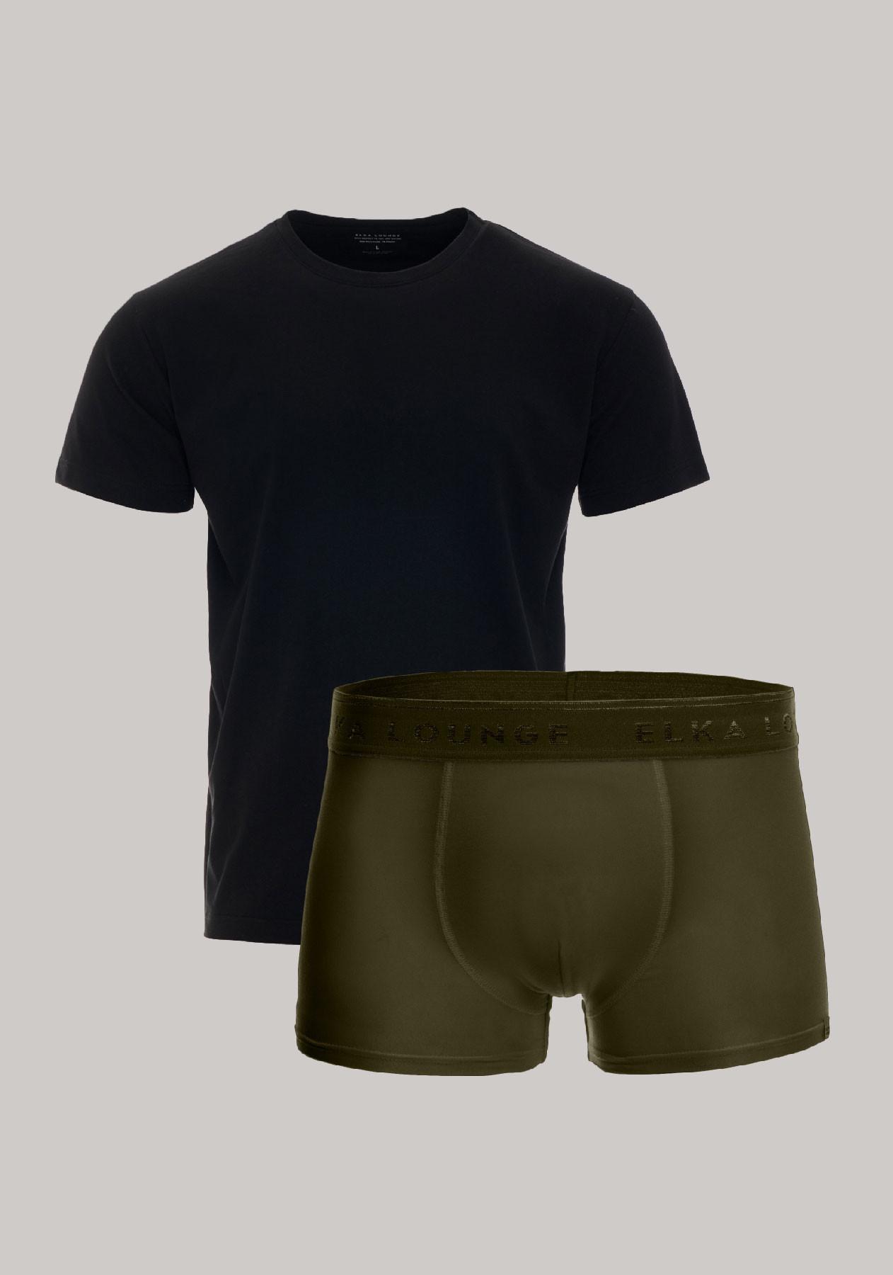 Men-T-shirt, boxers-ELKA-Lounge-M00541,561